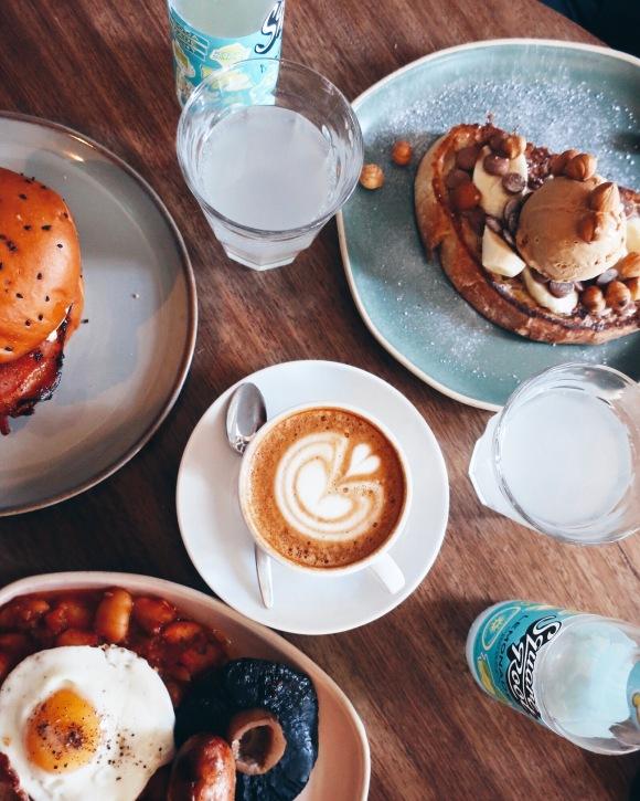 Breakfast at The Pilgrim in London