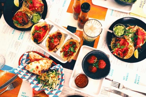 Mexican street food at Wahaca in London