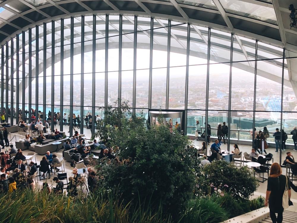 Sky Garden in London